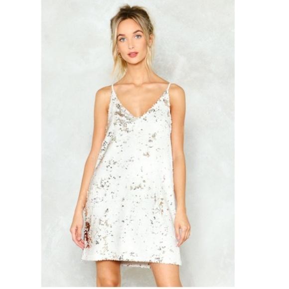 82b2a3a44405 Vera & Lucy Dresses | Vera Lucy Sequin Slip Mini Dress | Poshmark